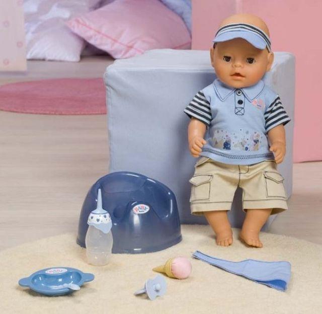 "Кукла-мальчик BABY born ""Покорми меня"", 43 см"