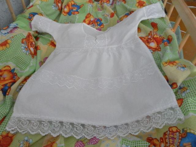 Крестильное платье как сшить - Выкройка