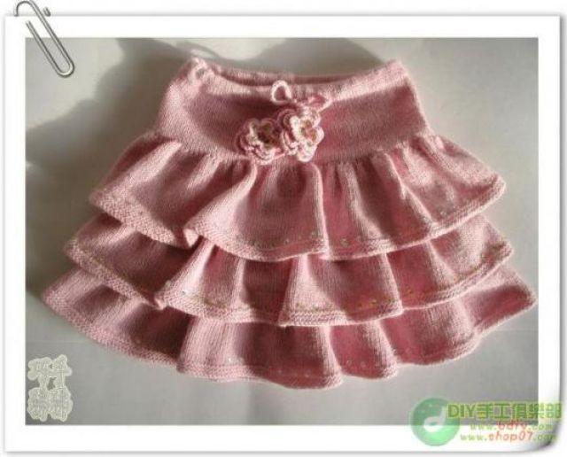Вяжем юбку фото