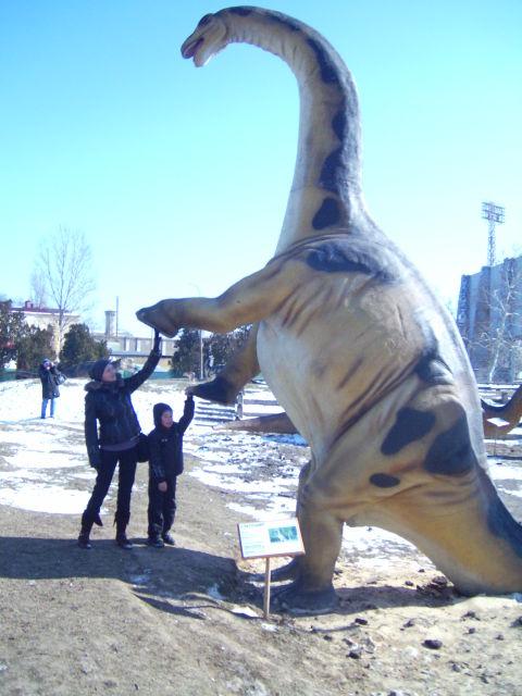 здравствуй, динозаврик