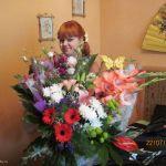я с цветами