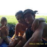мы на Красноярском водохранилище